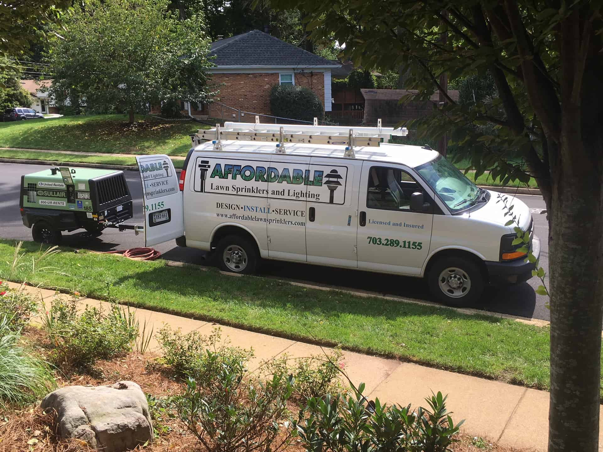 Affordable Lawn Sprinklers and Lighting